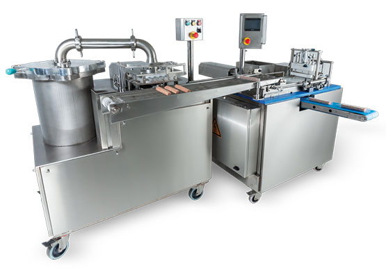 Kebab wrapping - rolling machines